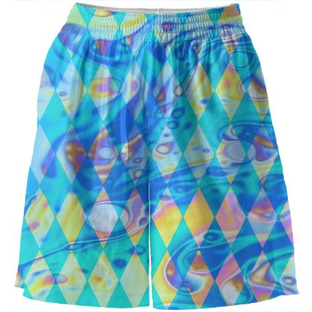 Dope Harlequin Basketball Shorts