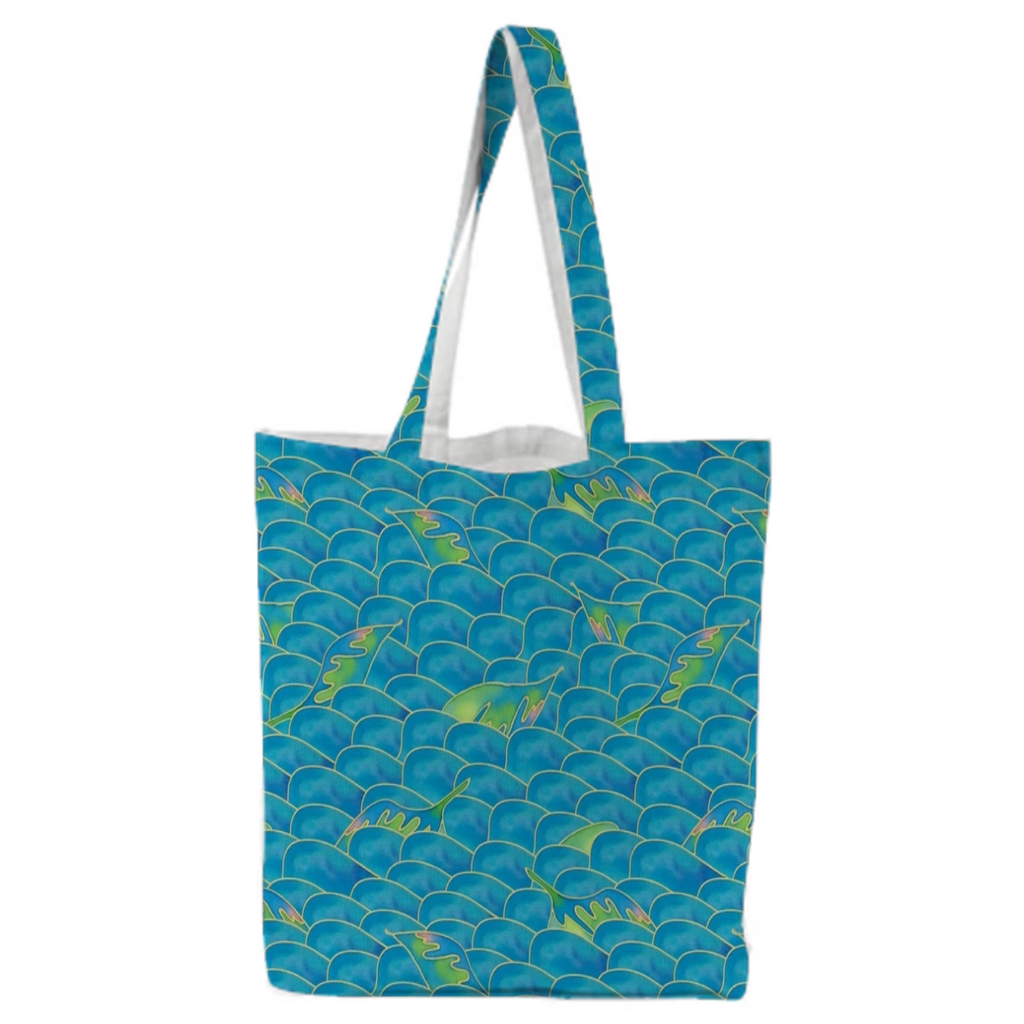 Mermaid Canvas Tote