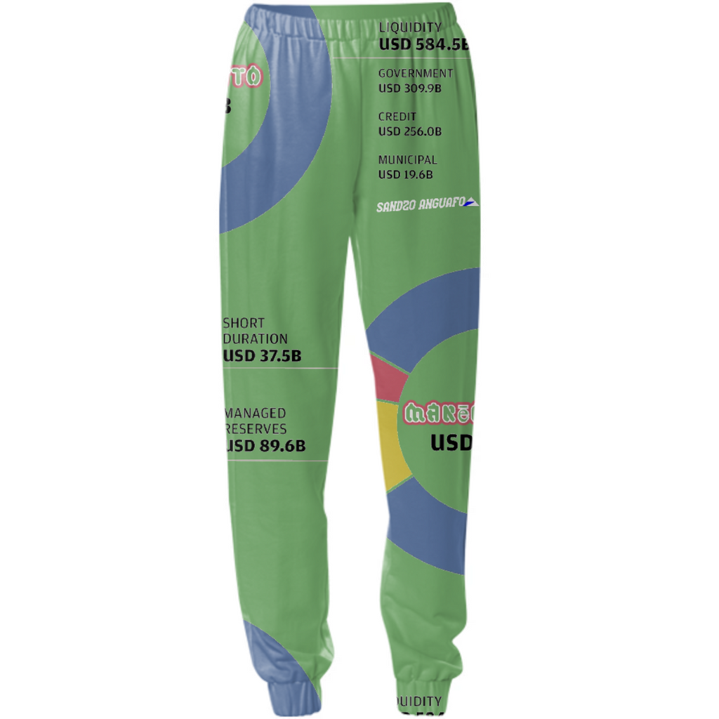 Sandzo Anguafo Money Markets Chart topper sweatpants