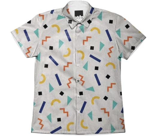 Memphis Feels Button Shirt