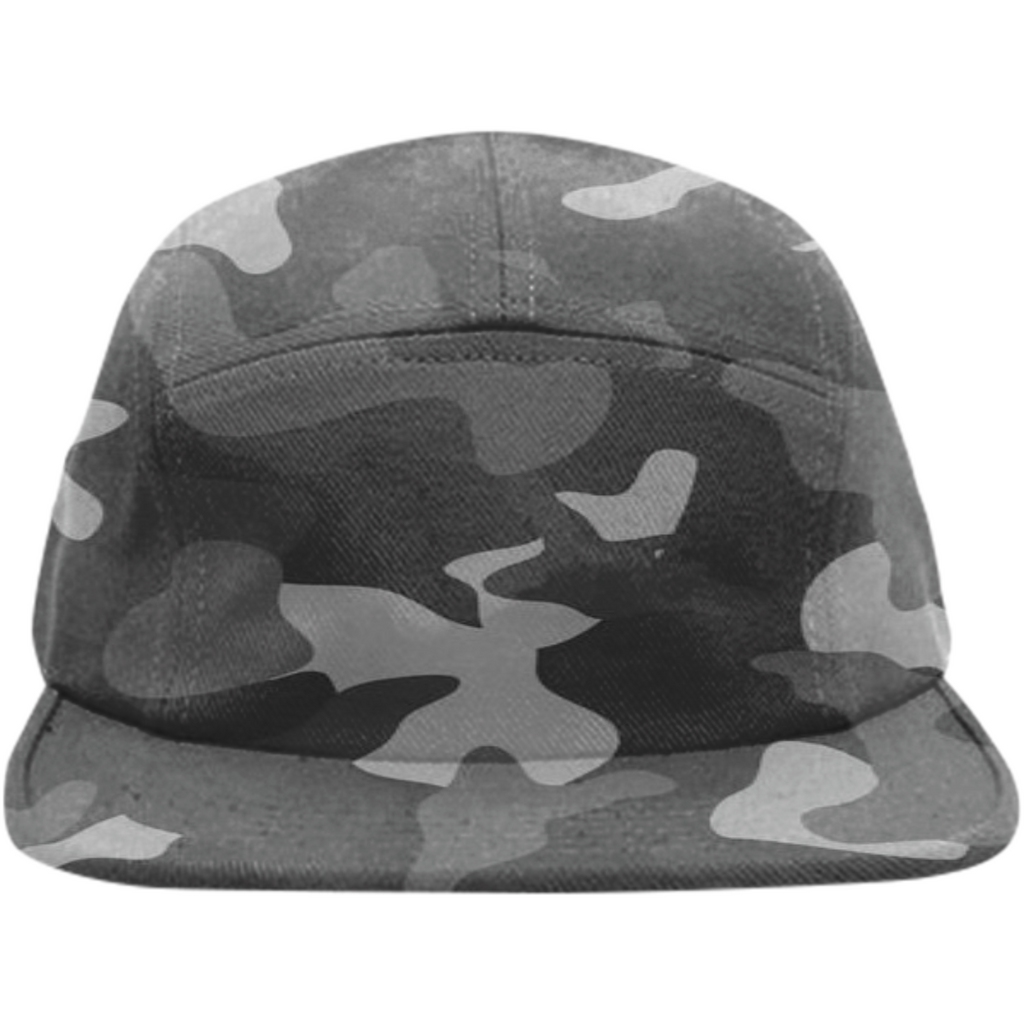military texture design on hats