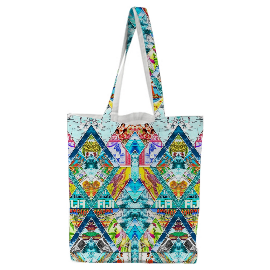 PAOM, Print All Over Me, digital print, design, fashion, style, collaboration, babyboofiji, Tote Bag, Tote-Bag, ToteBag, Travel, Fiji, autumn winter spring summer, unisex, Poly, Bags