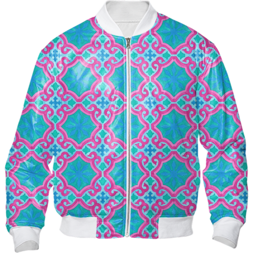The Moors of Palm Springs Bomber Jacket by Frank-Joseph