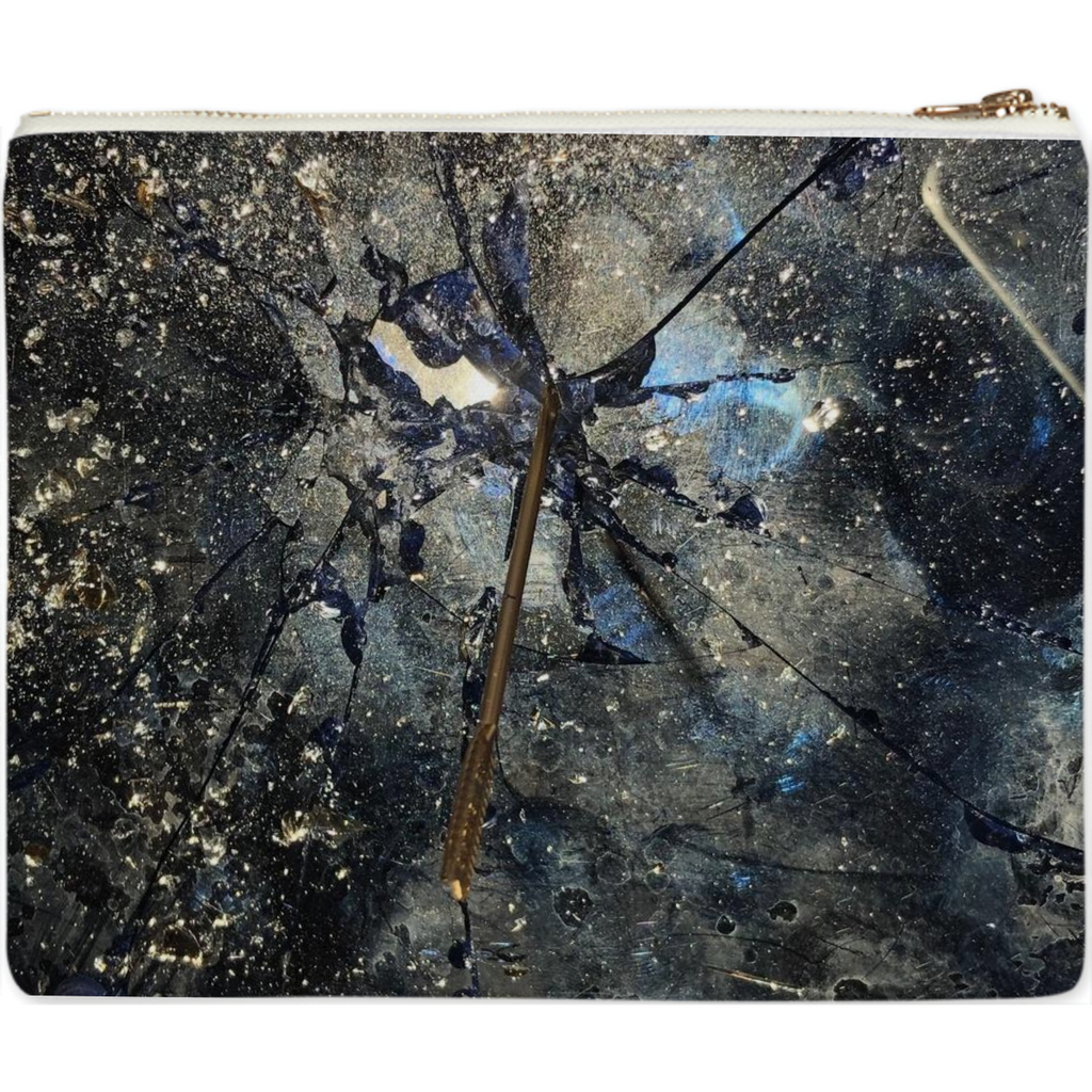 cracked glass ceiling clutch
