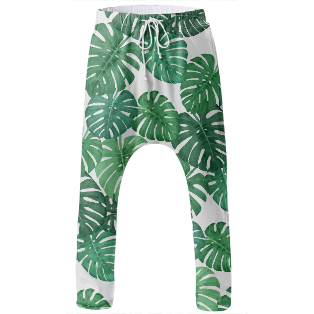 Monstera Jungle Drop Pant by Frank-Joseph