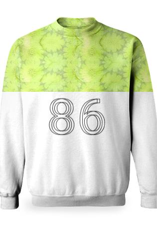86 Flower Sweatshirt