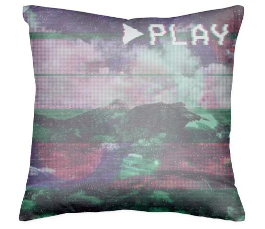 Press Play Pillow