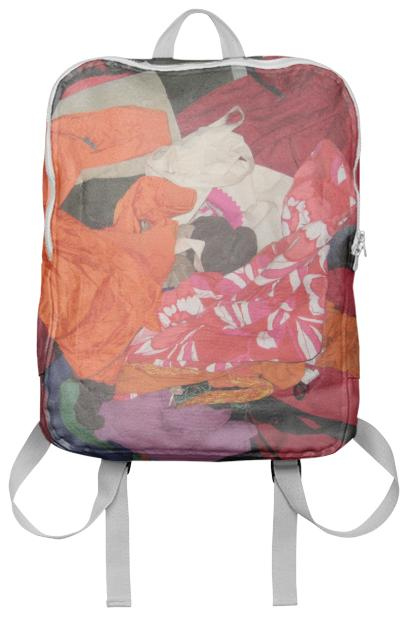 Pile of Clothes Bag by Nina Bovasso