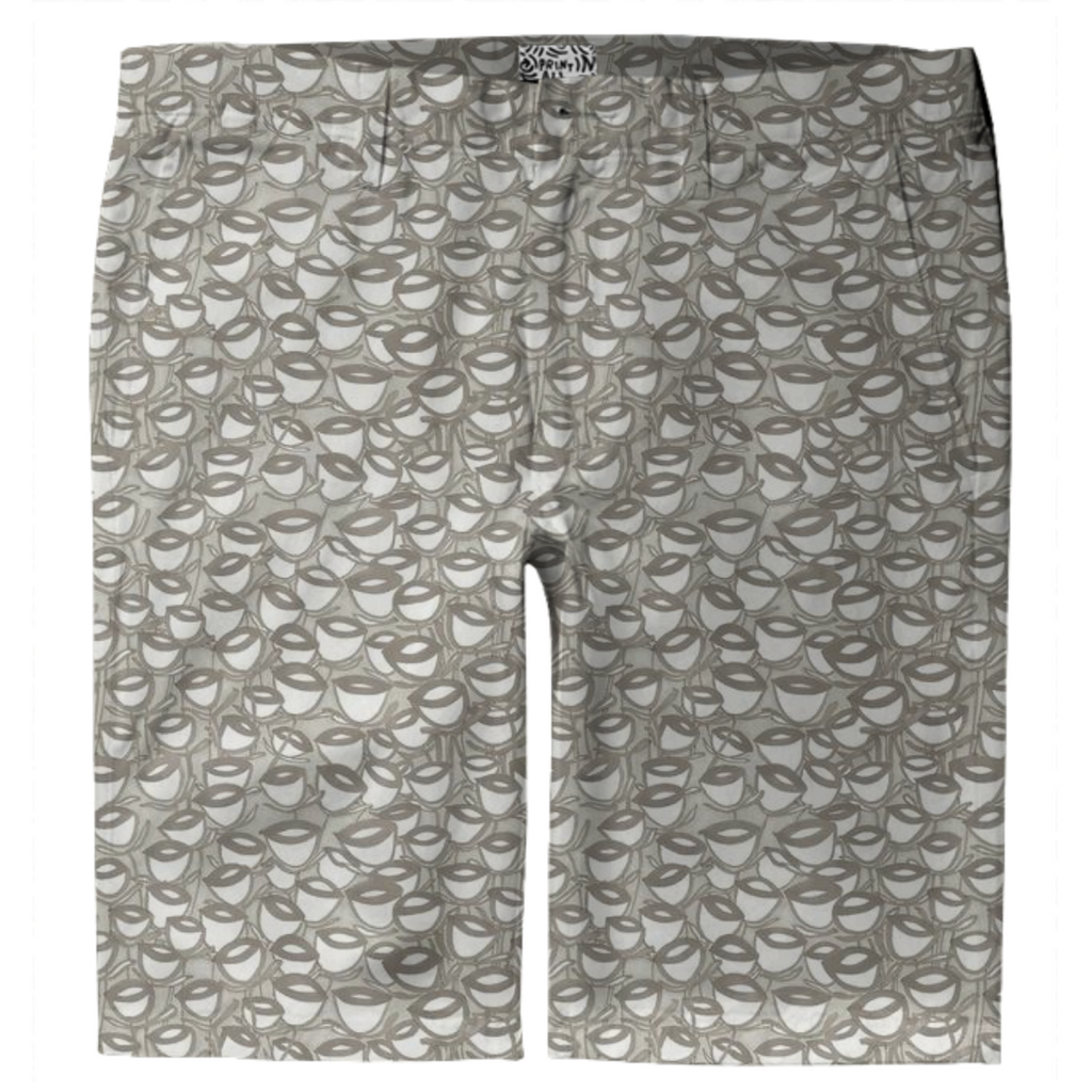 Cup trouser shorts
