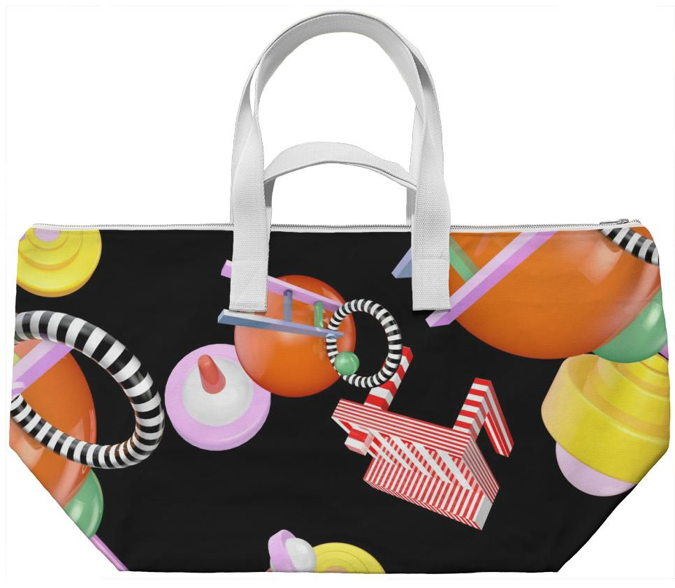 PAOM, Print All Over Me, digital print, design, fashion, style, collaboration, universalscene, Weekend Bag, Weekend-Bag, WeekendBag, FEELTHATSHIT, autumn winter spring summer, unisex, Poly, Bags