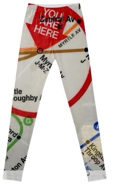 You are Here Leggings