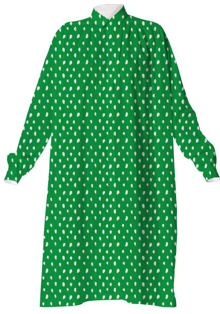 Green Kelly Dot