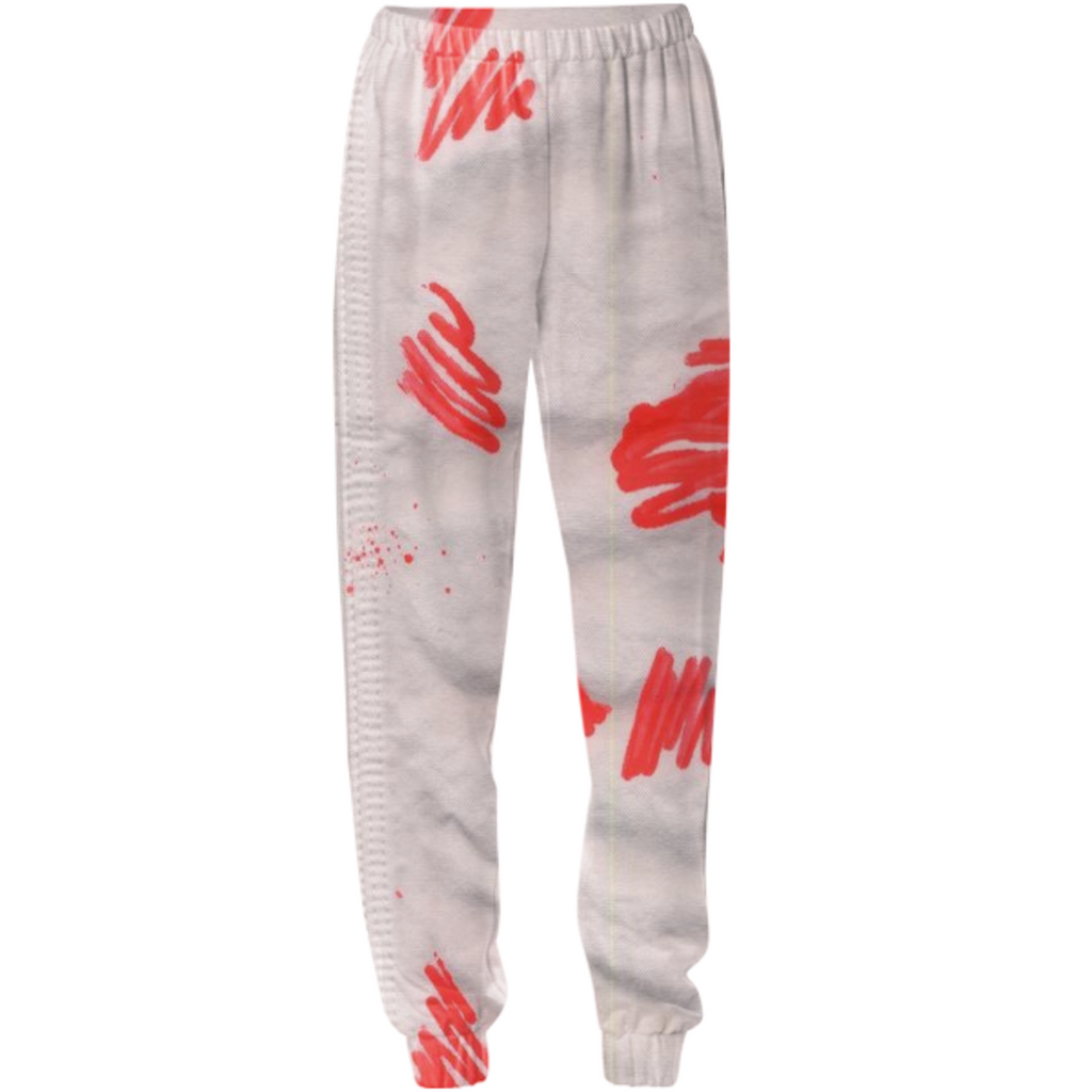 painted sweatpants