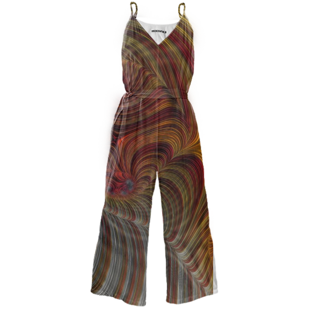 Coffee Creamer Fractal Jumpsuit
