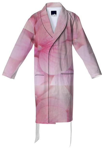 PINK FLOWERS TENDER COTTON ROBE