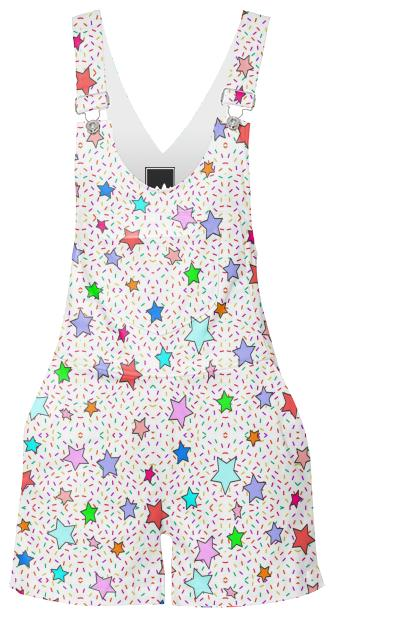 Titty Sprinkle overalls