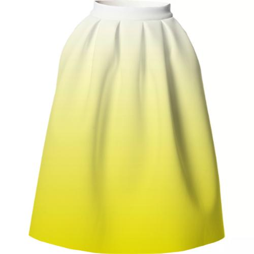 Yellow Gradient VP Neoprene Full Skirt