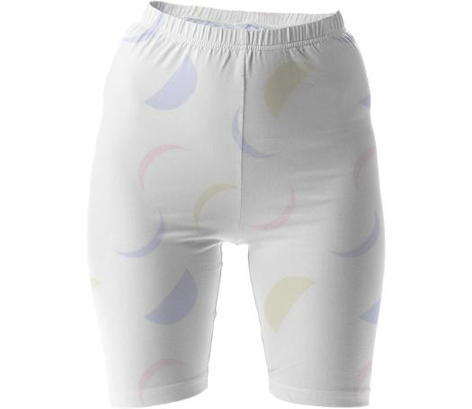 Fading Moons Bike Shorts