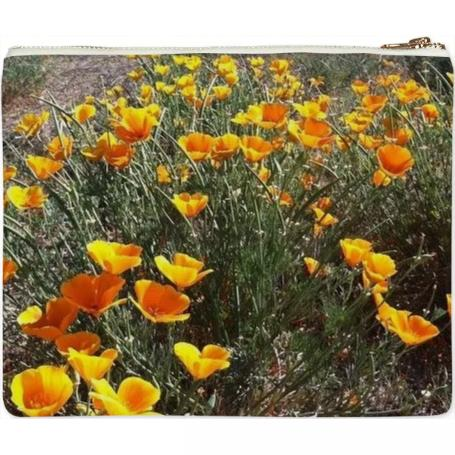 Poppies Clutch