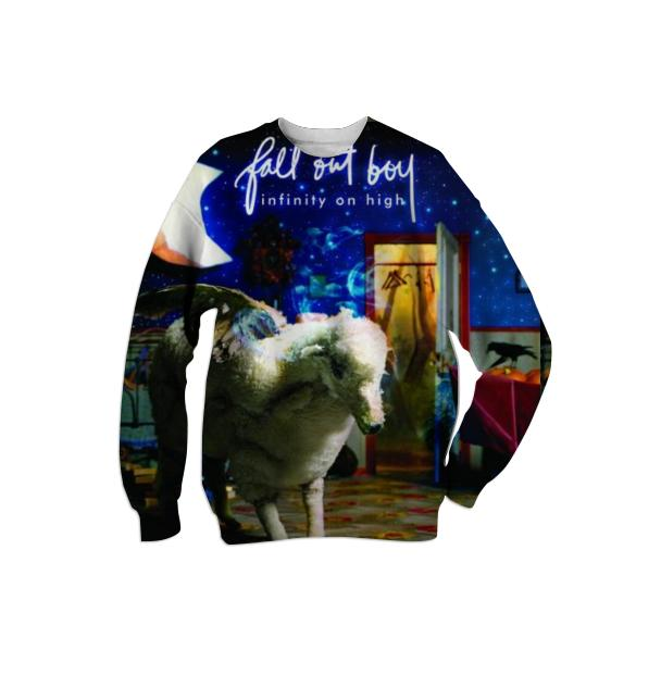 Fall Out Boy Infinity On High Album Cover Sweatshirt