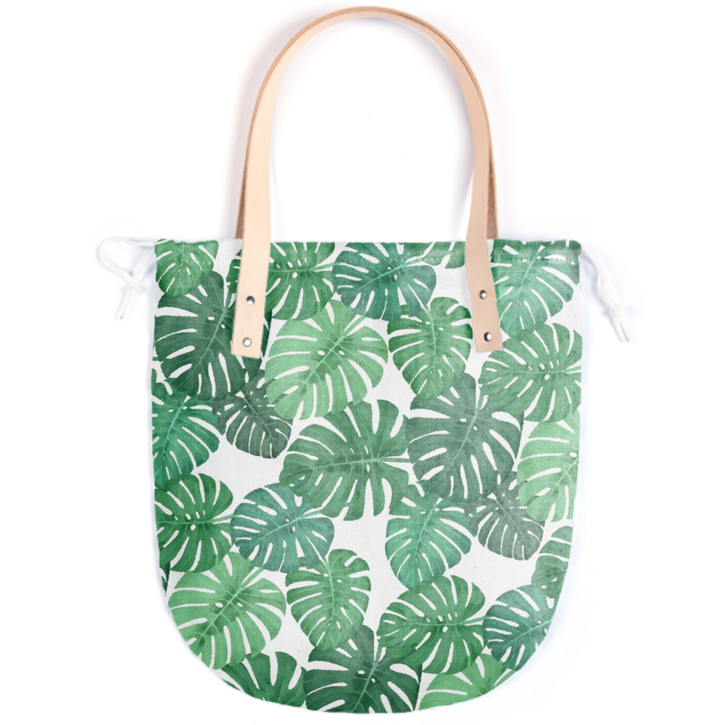 Monstera Jungle Summer Tote by Frank-Joseph