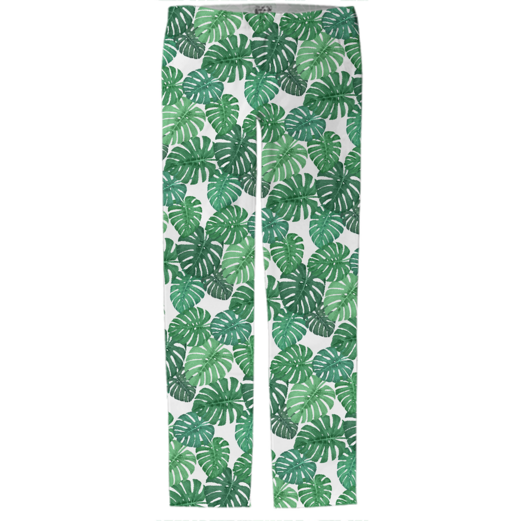 Monstera Jungle Trouser by Frank-Joseph