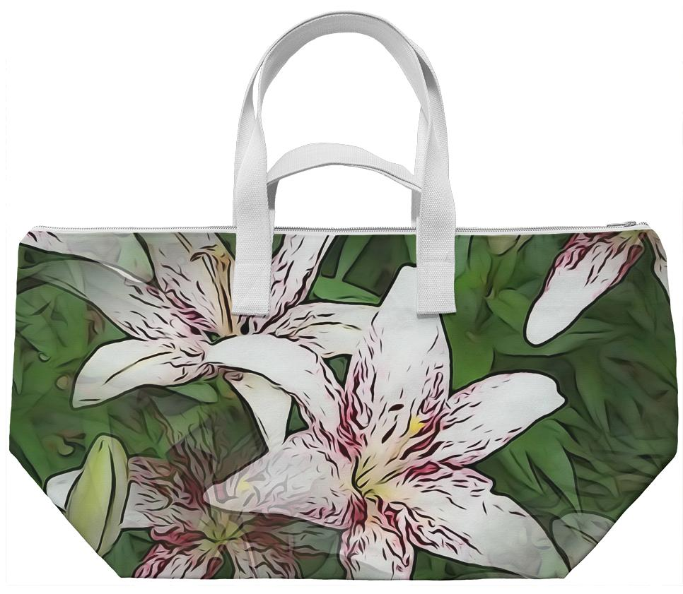 White Lily Weekend Bag