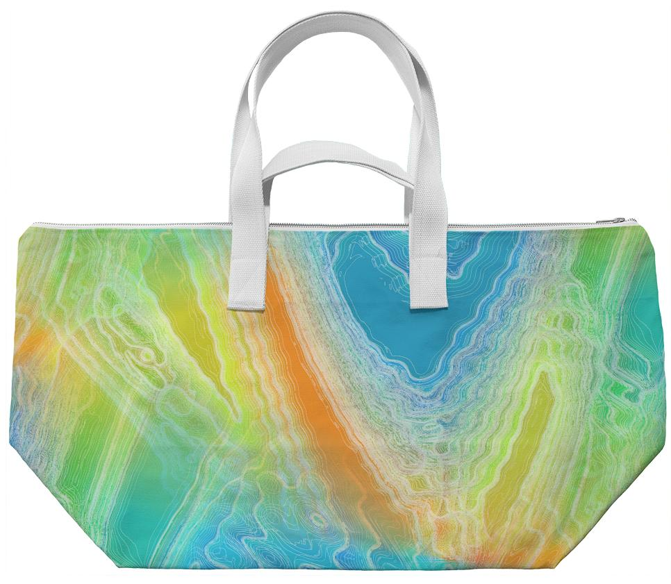 Frozen Rainbow Weekend Bag