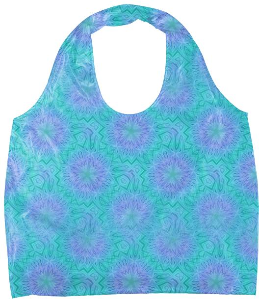 Purple And Cyan Eco Tote