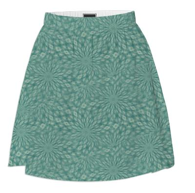 Dusky Green Summer Skirt