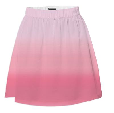 Pink Ombre Summer Skirt