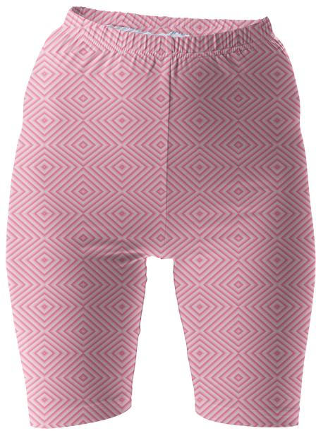 Pink Diamond Bike Shorts