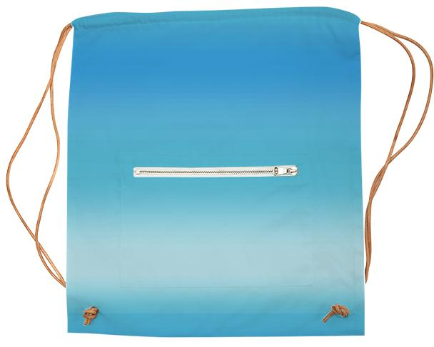 Blue Ombre Sports Bag