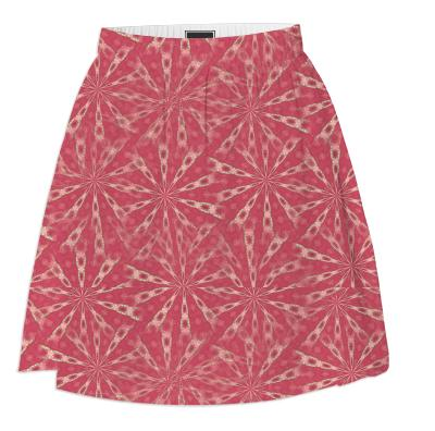 Coral Pink Summer Skirt