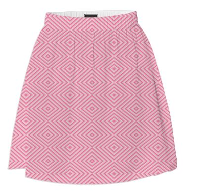 Pink Diamond Summer Skirt