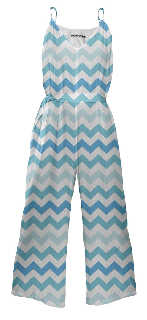 Blue Waters Chevron Jumpsuit