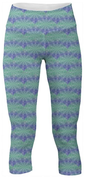 Grapevine Abstract Yoga Pants