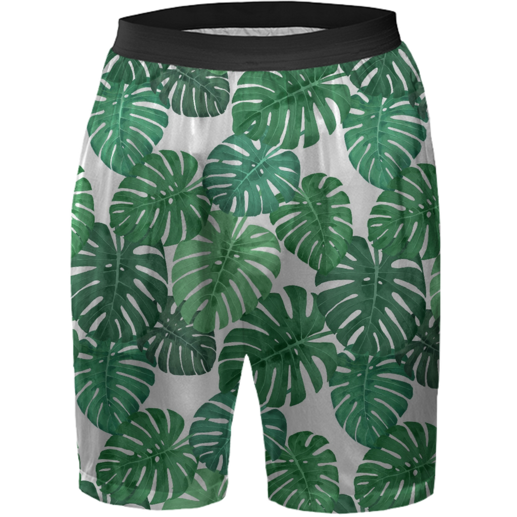 Monstera Jungle Boxer Shorts by Frank-Joseph