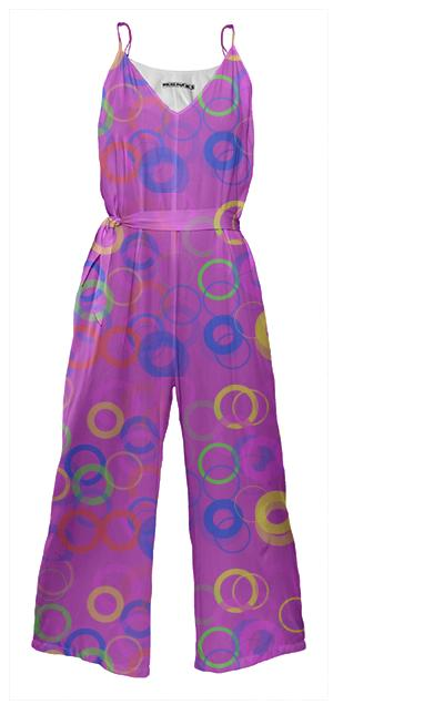 Circle Game Jumpsuit