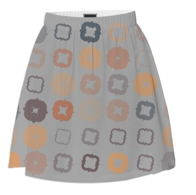 Earth Tones Summer Skirt
