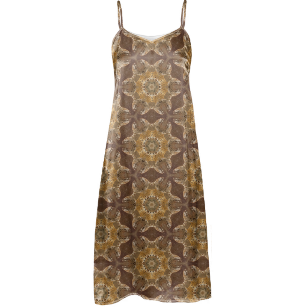 Leopard Sun Slip Dress