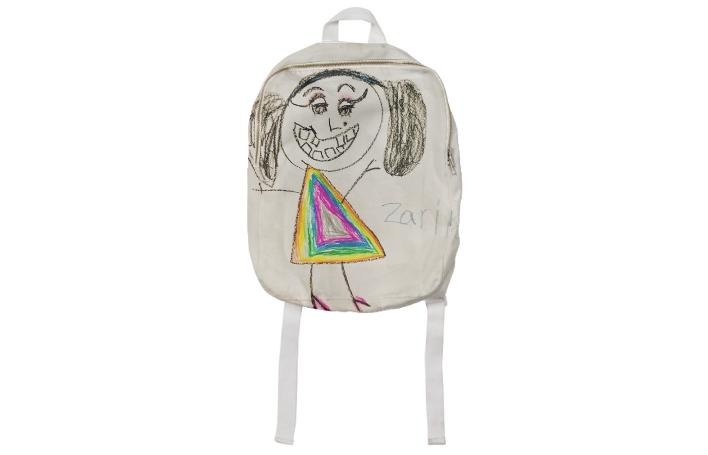 Textiles For A Cause Rainbow Prism Kids Backpack