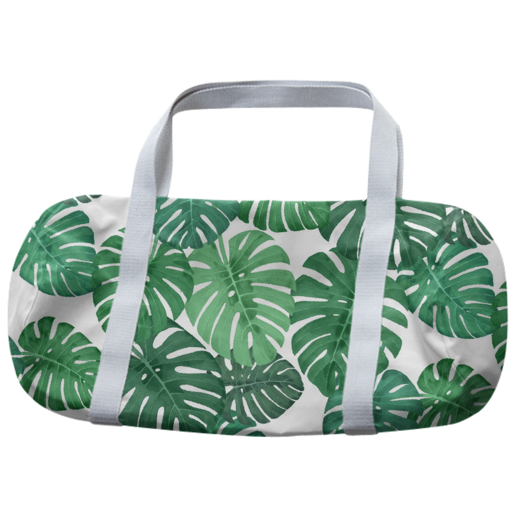 Monstera Jungle Duffle Bag by Frank-Joseph