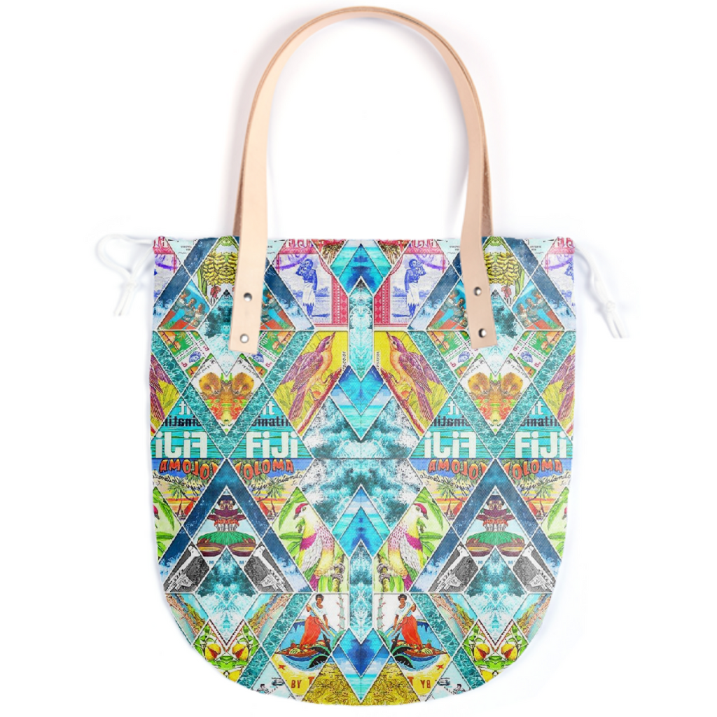 PAOM, Print All Over Me, digital print, design, fashion, style, collaboration, babyboofiji, Summer Tote, Summer-Tote, SummerTote, Travel, Fiji, spring summer, unisex, Poly, Bags