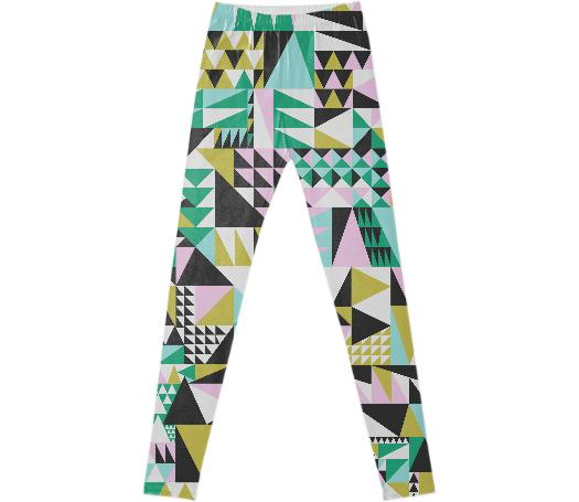 Geometric Pattern Leggings