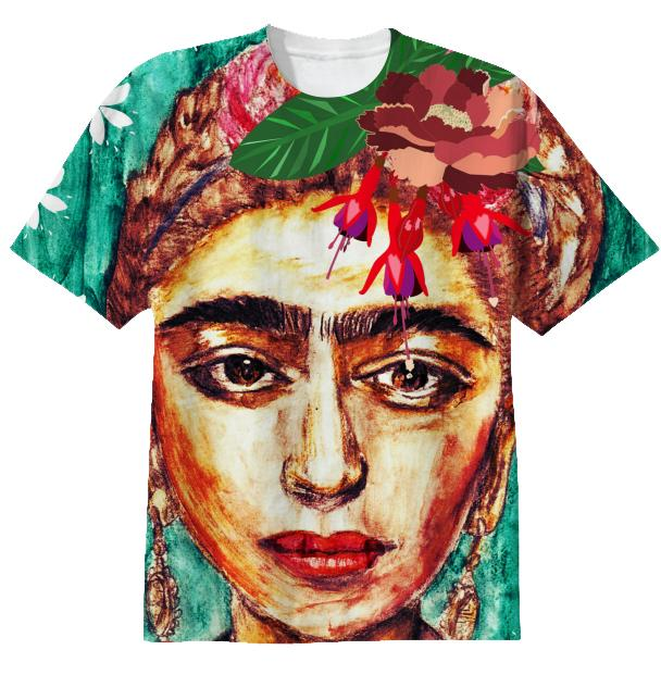 COOL KID Frida Kahlo T shirt