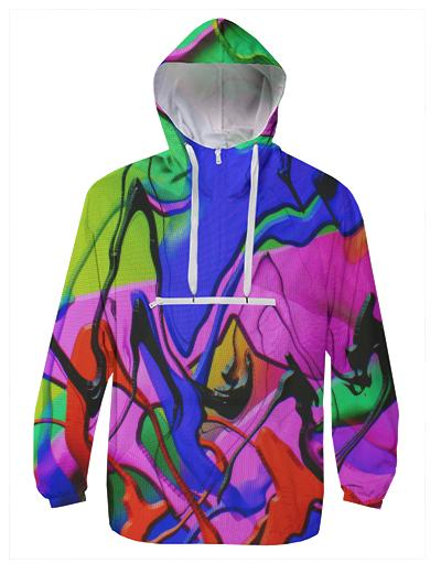 PAOM, Print All Over Me, digital print, design, fashion, style, collaboration, brianvu, Windbreaker, Windbreaker, Windbreaker, EDM, spring summer, unisex, Poly, Outerwear