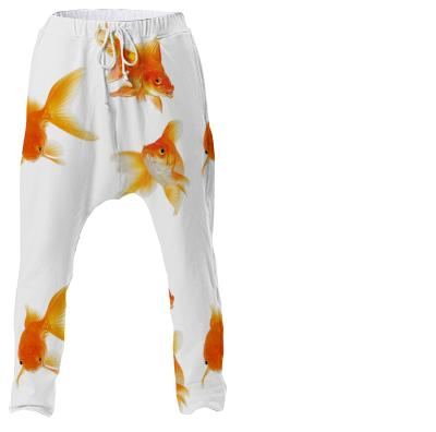 Goldfish drop pants