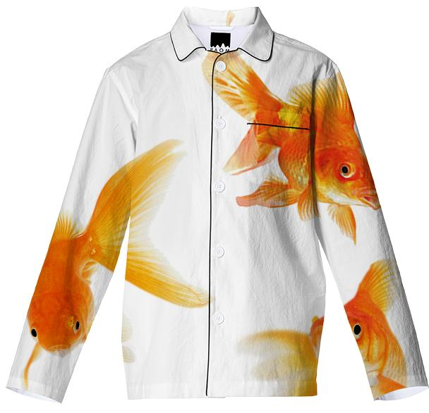 Goldfish pajama top