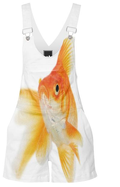 goldfish shorteralls